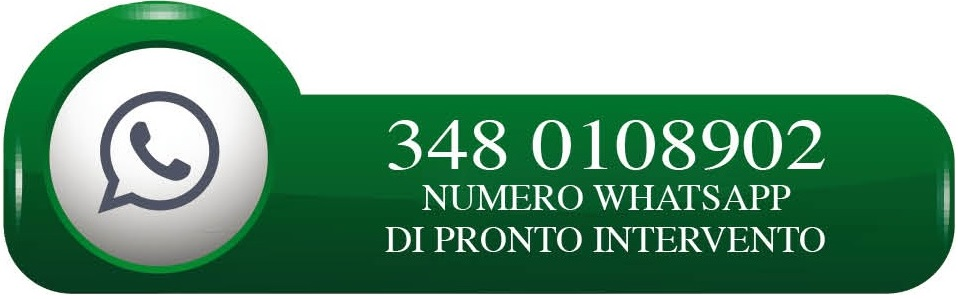 NUMERO WHATSAPP DI PRONTO INTERVENTO